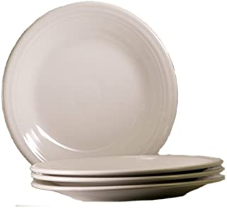 Fiesta 10-1/2-Inch Dinner Plate, White, Set of 4