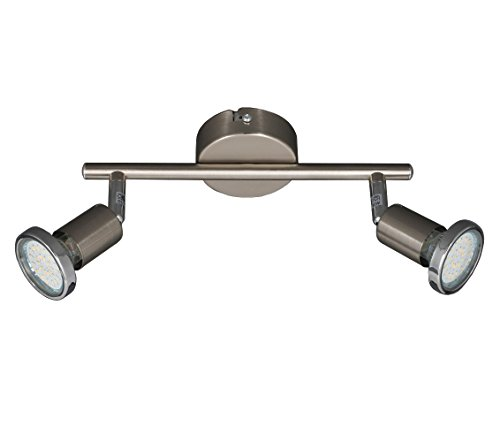 TG2935-022B LED plafondlamp spots incl. 3 Watt LED-lampen 3000K warm wit (2-flg - 6 Watt)