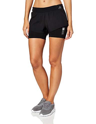 adidas Adapt Short W Pantalón Corto, Mujer, Negro, XS3