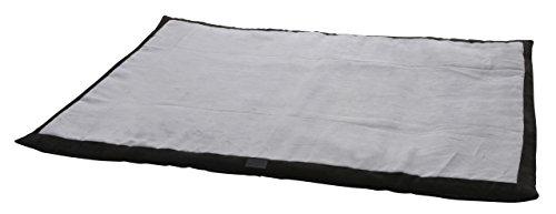 Kerbl 81265 Hundematte Trip 140 x 100 x 4 cm, grau/schwarz