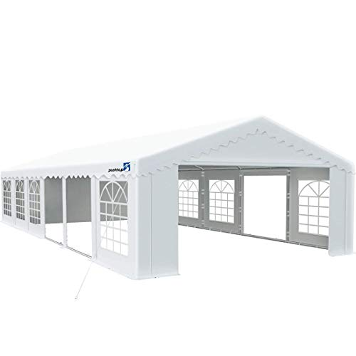 Peaktop Outdoor 20'X40' Party Tent Heavy Duty Outdoor Gazebo Wedding Tent Event Shelter Canopy with Carry Bags