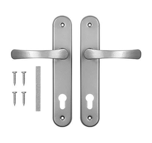 ADGO Juego de Manijas de Puerta para Una Incrustación de 72 mm...