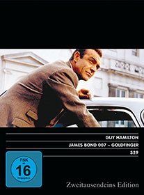 James Bond 007 – Goldfinger. Zweitausendeins Edition Film 329.