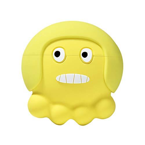 3D Cute Cartoon Design Kopfhörer Hülle für Airpods Pro Ladehülle, Silikonhülle für Airpods Pro Cartoon Ladetasche Drahtlose Kopfhörer Schutzhülle