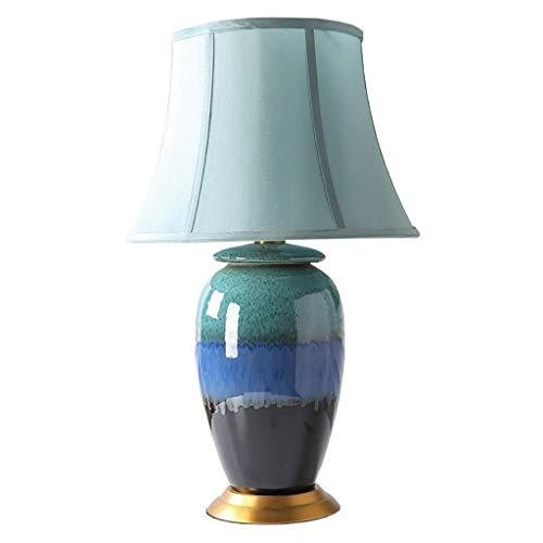 LLYU Moderne minimalistische vaas creatieve nieuwe Chinese keramische tafellamp woonkamer slaapkamer TV kast decoratieve verlichting