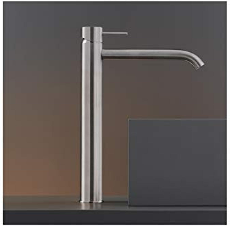 CEA Milo360 single lever sink tap MIL17-Polished Steel