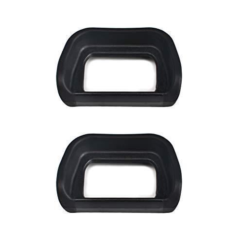 VKO Eyepiece/Eyecup/Viewfinder FDA-EP10 Replacement for Sony NEX-6 NEX-7 A6100 A6300 A6000 Digital Cameras(2 Pack)