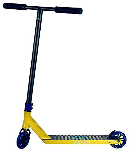 AO Scooter Maven 2020 Stunt-Scooter Complete H=86cm + Fantic26 Sticker (Gold)