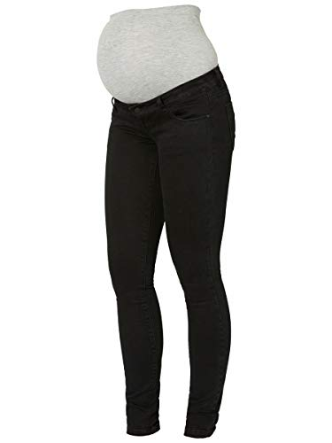 MAMALICIOUS Mama Licious Female Umstandsjeans Slim Fit 2632Black