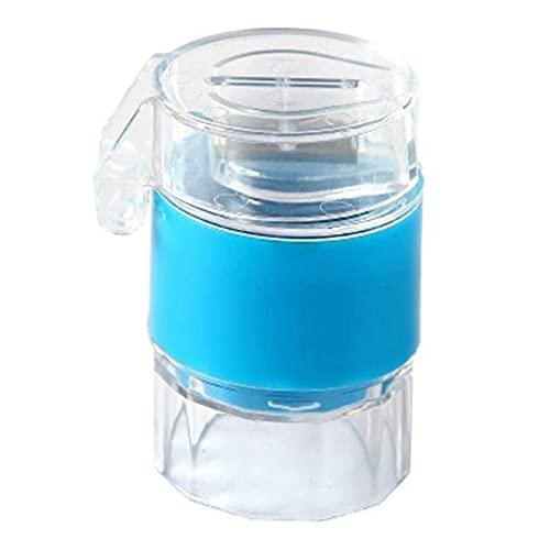 Monland Molinillo de Pastillas PortáTil 4 en 1 de 4 Capas para Tabletas en Polvo Cortador de Polvo Rebanador de Almacenamiento de Caja de Divisor de Medicina ✅