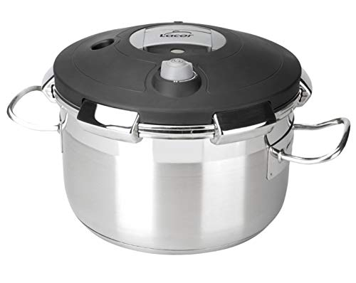 Lacor Chef Luxe 50823 - Olla presión de 23 litros, inoxidab