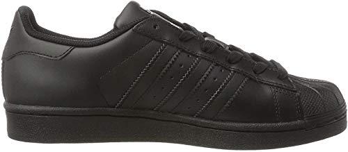 adidas Męskie buty sportowe Superstar Foundation Shoes, czarny - Czarny Core Black - 36 2/3 EU