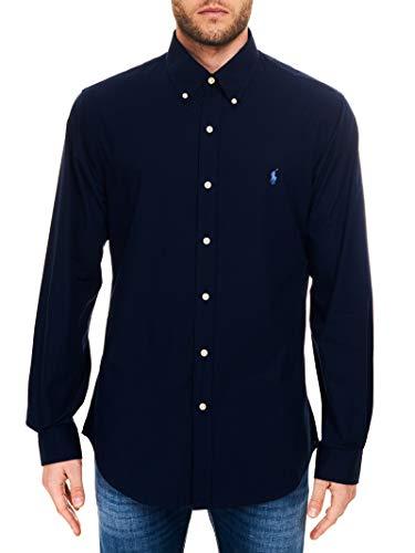 Polo Ralph Lauren - Chemises Manches Longues Hommes - 710705269-006 - M Bleu Marine