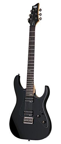 Schecter 3851 - Guitarra eléctrica, color gloss black
