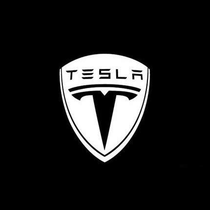 xy 2 Stück for Tesla Model S Tesla Model 3 X Y Led Auto-Tür-Willkommens-Licht Zubehör Licht Logo-Projektor Laserlampe Geist-Schatten-Tür (Emitting Color : L4)