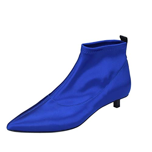Vic Matie Stiefeletten Damen Satin blau 37 EU