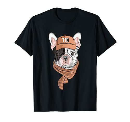 T1D French Bulldog Type 1 Diabetes Shirt for Kids and Adults T-Shirt