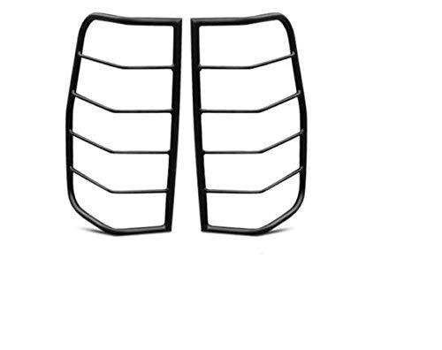 TAC Rear Tail Light Guards Cover Protector Fit 2005-2020 Nissan Frontier TLG BLACK Taillight – 1 Pair