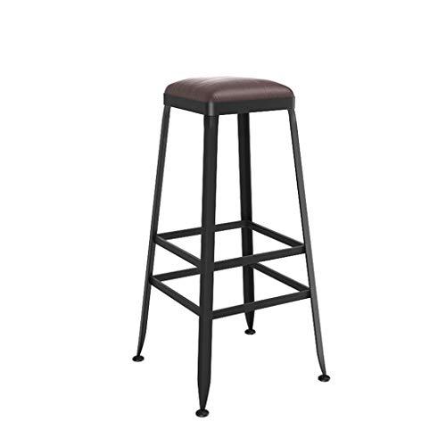 Furniture Stool/barkruk, hoog, metaal, vintage-stijl, smeedijzer, barkruk, hoge kruk, kan in de keuken, eetkamer, teller, pub worden gebruikt
