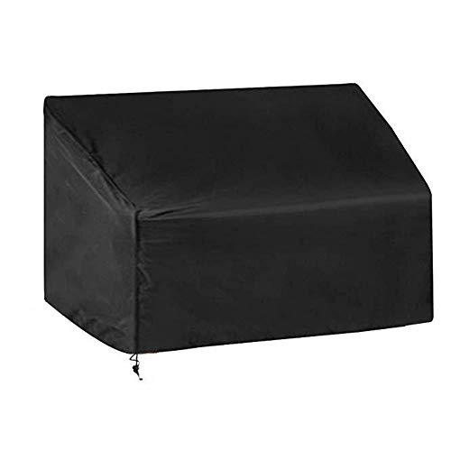 GHHQQZ Fundas Muebles Tela Oxford Todos Los Climas A Prueba Polvo Impermeable Proteccion Dispositivo Conjunto Silla Y Mesa, Negro, Personalizable (Color : Negro, Size : 200x100x100cm)