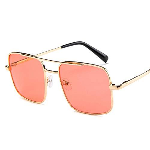 chuanglanja Gafas Sol Mujer Gafas De Sol Cuadradas Con Lente De Océano Para Mujer Gafas De Sol Retro Para Mujer Gafas De Sol Para Mujer-Color-T