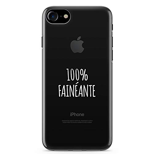 Zokko - Carcasa para iPhone 7 (100% fantasía, tamaño iPhone 7), Color Blanco