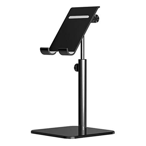 HUAER Para Soporte de Escritorio, Tablet, Ajuste para iPad Pro 11 10.5 10.2 9.7 Mini para Samsung Xiaomi Tablet Stand (Color : Black)
