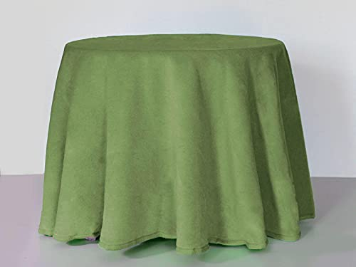 Lanovenanube - Falda Mesa Camilla Invierno Redonda 60 cms - Verde
