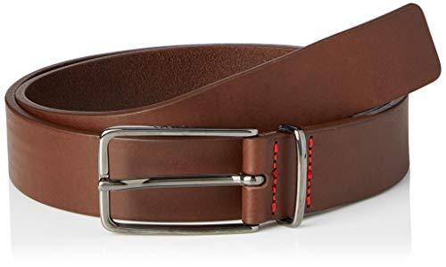 HUGO Golia-V_Sz30 Cinturón, Marrón mediano (210), 110 cm para Hombre