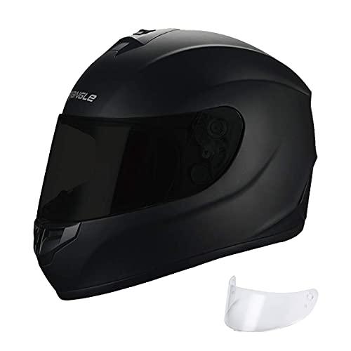 "motorcycle street helmets TRIANGLE Motorcycle Helmets Full Face ""Graffiti Cross"" Street Bike [DOT] (Medium, Matte Black)"