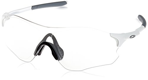 Preisvergleich Produktbild Oakley Mens EVZero Path Asian Fit Sunglasses,  Matte White / Clear Black,  One Size