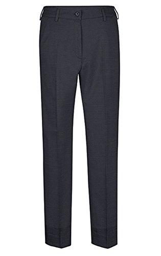 GREIFF Damen-Hose Slim Fit, modern with 37,5, Slim fit, 1374, schwarz, Größe 40