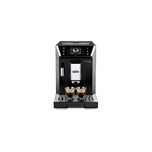 DELONGHI ECAM 550.55 Independent. SB Fully Automatic 2L Stainless Steel Cafetiere - Freestanding, Coffee Machine in Capsules, 2 L, Mill Built-in, 1450 W, 2 liters