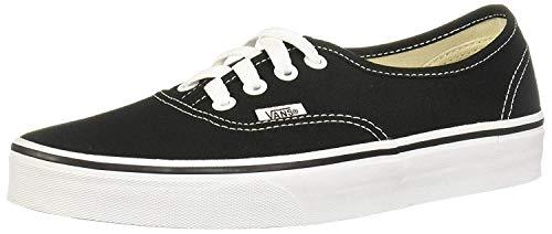 Vans Authentic, Sneaker Unisex – Adulto, Nero (Black/White), 42.5 EU