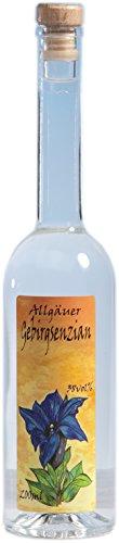 Gebirgs-Enzian aus dem Allgäu - Feiner Enzianschnaps 200 ml 38%