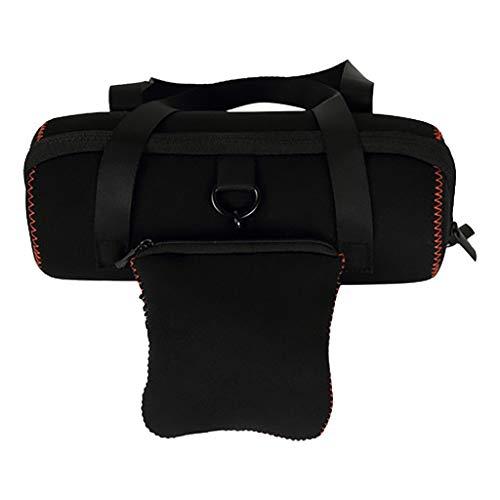 Voor JBL Charge 4 beschermhoes tas, Colorful Eva harde reistas draagbare Bluetooth luidsprekertas hoes voor JBL Charge 4 Bluetooth luidsprekers, extra tas geschikt voor plug en kabel