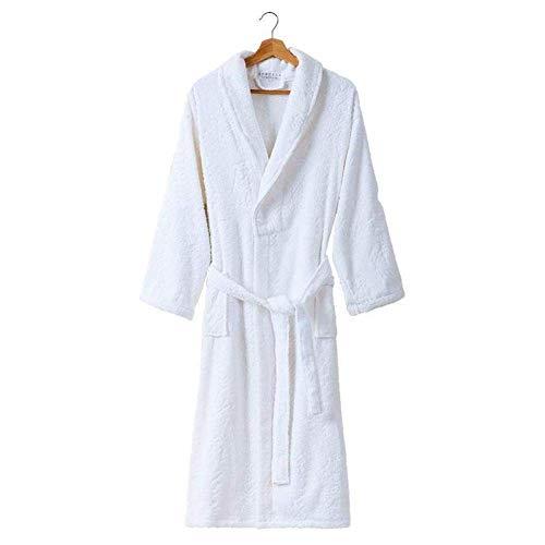 LLSS Hombres # 039; s Sexy Toalla de algodón Material Kimono Albornoz Vestido Suave Pareja Ropa de casa Pijamas