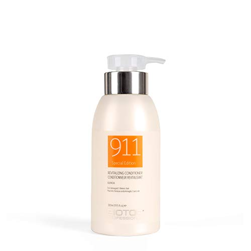 911 Quinoa Conditioner for Dry, Lifeless, and Damaged Hair, 11.2 oz – Biotop Professional