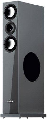Canton Karat 790 DC Standlautsprecher (180/300 Watt) schwarz hochglanz (Paar)