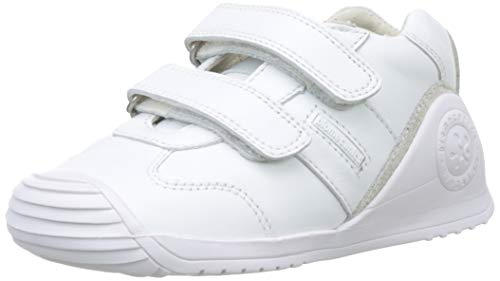 Biomecanics Unisex Kinder 151157-2 Hausschuhe, Weiß (Blanco (Sauvage) Colores), 23 EU