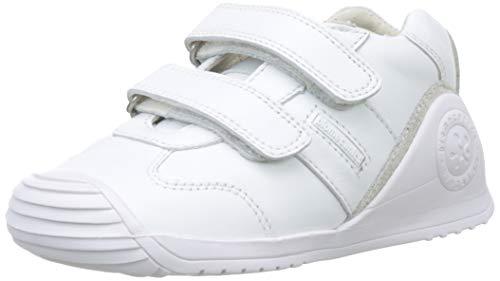 Biomecanics 151157-2, Zapatillas de Estar por casa Unisex niños, Blanco (Blanco (Sauvage) Colores), 19 EU