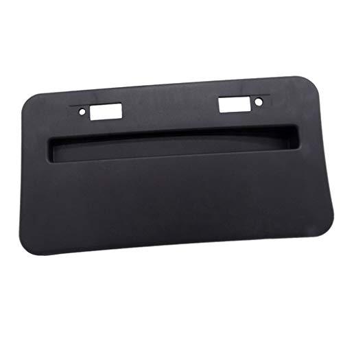 N/A 1X FRONT Bumper License Plate BASE Frame Fits 08-18