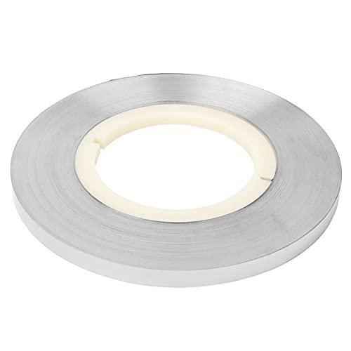 Cinta de acero y níquel, cinta de soldadura por puntos de batería sensible y práctica, duradera para carga de energía móvil Treasure(0.15 * 8mm)