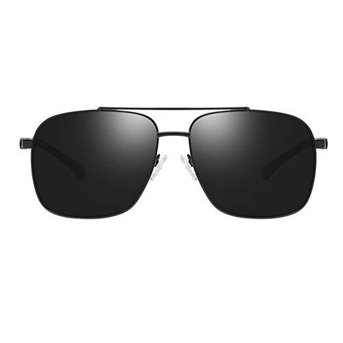 PRETYZOOM Gafas de Sol Deportivas Polarizadas de Conducción Nocturna Protección UV Gafas de Ciclismo Al Aire Libre a Prueba de Viento para Hombres
