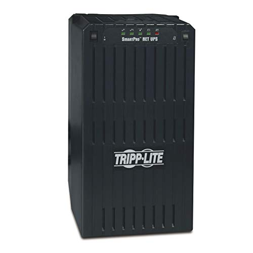 Tripp Lite SMART3000NET 3000VA 2400W UPS Smart Tower AVR 120V XL DB9 for Servers, 8 Outlets