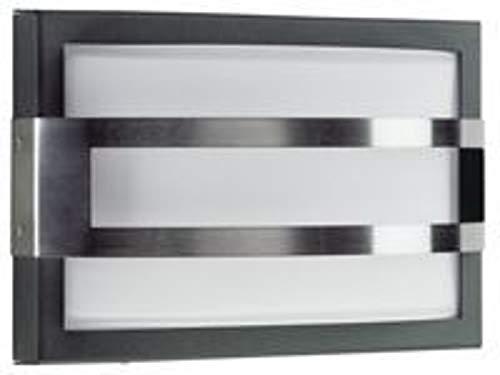 Albert Applique Bateau Kalman, gris/métallique/Blanc, Acier Inoxydable/Verre, 626180