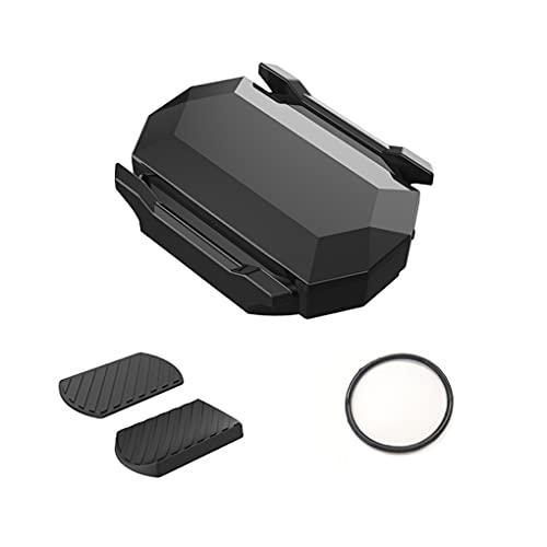 QINCHUN Sensor inalámbrico de velocidad de cadencia de bicicleta impermeable inalámbrico Bluetooth 4.0/ANT+, sensor RPM para sistemas Apple y Android