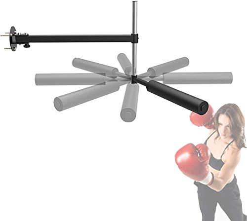 Plegable Fight Training Kick Pads - Ahorra Espacio - Altura Ajustable - Mayor Capacidad de Carga - Rotación Libre de 360 Grados Boxeo Pads - para Boxeo Taekwondo Karate Judo Jiu-JIT