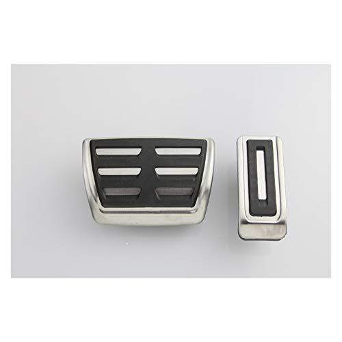 ZXC Pedal-Kit Fit for für VW Multivan T5 T6 CARAVELLE T6 Edelstahl Zubehör Gasbremspedale Einfache Atmosphäre (Color Name : at)