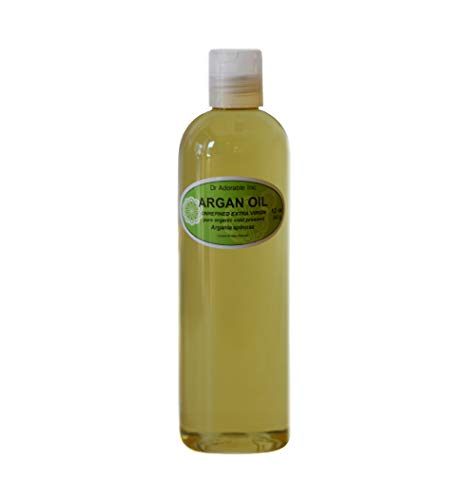 Extra Virgin Argan Unrefined Organic Cold Pressed Pure Pure 12 Oz